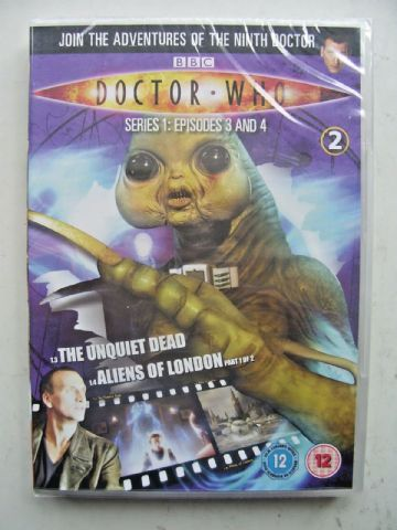 Doctor Who Series 1 Episodes 3 & 4  DVD  Christopher Eccleston  NEW and SEALED